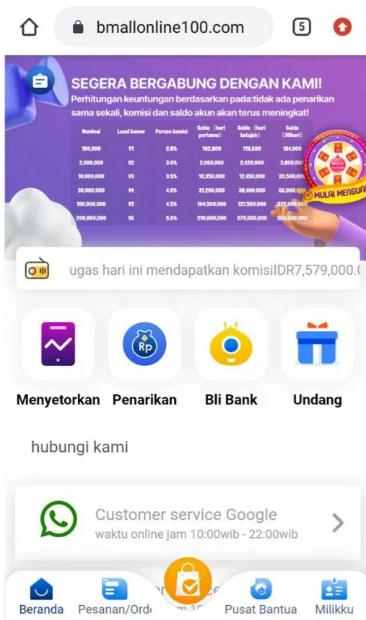 BMALL Online Apk, Apakah Aman?